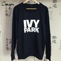 beyonce clothes - IVY Park Letter Print Women T Shirt Beyonce Clothes Tee Tops Summer Woman Long Sleeve T shirts Cotton Fashion Tshirt QA1205