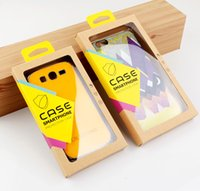 apple paper clips - 200pcs New Arrival High Class Kraft Paper Packaging For Phone Cover For iPhone s s plus