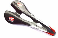 Wholesale Genuine Future Carbon Fiber Mountain Bicycle Saddle Titanium Round Rail Bow cushion superacids ultra light k finish Bike saddle