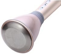 Wholesale Hot Sales pink K068 Wireless Microphone microfone with Mic Speaker Condenser Mini Karaoke Player KTV Singing Record for Smart Phones