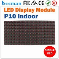 Wholesale Waterproof Advertising Outdoor Full Color smd Led Module P10 high brightness outdoor waterproof large advertising full color SMD led screen