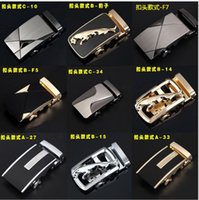 Wholesale retail can be equipped with automatic buttoned head cm alloy buckle belt genuine