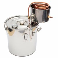 best water boiler - High Quality Best Price L Copper Moonshine Ethanol Alcohol Water Distiller Still Stainless Boiler
