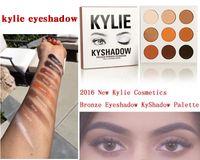 Wholesale presale Kylie Cosmetics Jenner Kyshadow eye shadow Kit Eyeshadow Palette Bronze Preorder Cosmetic Colors