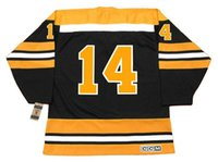 ace jerseys - GARNET ACE BAILEY Boston Bruins CCM Vintage Away Ice Hockey Jersey Name Number All Stitched Best Quality Size M XXXL