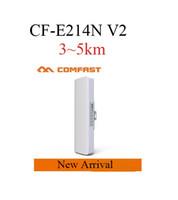 Wholesale 2016 New Arrival COMFAST CF E214N V2 KM Wireless Outdoor CPE km Wireless Router Bridge Wireless Bridge