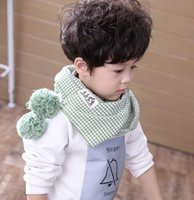 Unisex Scarf Cotton Blends Fashion Baby Children Scarf Winter Boys Girls Neckerchief Check, Plaid & Tartan Multi Color Scarves For Kids Clothing Accessories