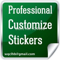 Wholesale Professional custom made any types of stickers Services car decal wall label