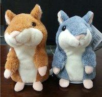 animal sound recordings - Lovely Talking Hamster Plush Toy Hot Cute Speak Talking Sound Record Hamster Toy Animal