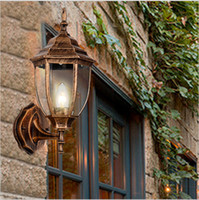 Wholesale 2016 new led porch lights outdoor sconces wall outdoor lights waterproof outdoor wall light for villa led waterproof outdoor wall lamp