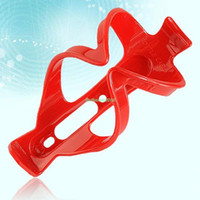 Wholesale EN1580 PLASTIC ULTRA LIGHT CYCLING BIKE BICYCLE DRINK WATER BOTTLE HOLDER CAGE RED