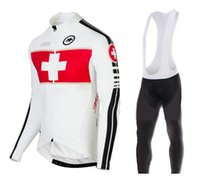 Wholesale rapha Mens Cycling Jersey Sets assos Bike Tracksuits Bicycle Jerseys Long Sleeve Britain Sportswear Road Sports Clothes Racewear Bib Pants