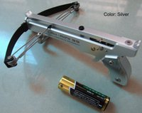 arrow materials - Nice Mini crossbow for amusement or collection with the space aluminum material newest design