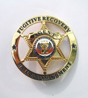 bail enforcement - The badge of metal badges of American crime bail enforcement chapter badge copper recovery