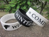 american housing - 50pcs Game of Thrones wristband WINTER IS COMING HOUSE STARK wristband