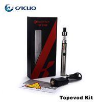 Cheap Authentic Kanger TopEvod Starter Kit 650mAh Evod Battery Kangertech 1.7ml Toptank Top Fill Atomizer with VOCC T Coil ecigarette