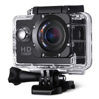 Wholesale Camera with Inch P Full HD Display Wide Angle Lens MP Waterproof Action Camcorder Sports Mounting Black Box