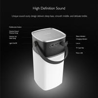 Mini-roches France-Haut-parleurs extérieur Portable Rocher Mini LED Smarphone sans fil Bluetooth Haut-parleur Bluetooth de soutien étanche TF