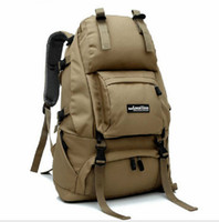 Wholesale 2016 Men s Nylon Travel Backpack Rucksack Outdoor Sport Hiking Camping Backpack Mountaineering Bag Tactical Backpack