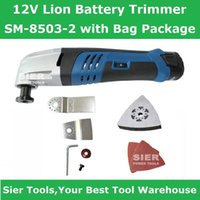 Wholesale 12V Power Tools V Lion Battery Trimmer SM with Bag Package Sier Universal grinding machine with Accessories Electric Planer