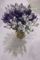 Silk artists christmas - Purple Fake Plants Artificial Bouquet Roll Lavender Leaves Grass Wedding Garden Party Realistic Floral Decor Silk Flowers Artist Arrangement