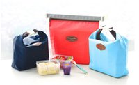 Wholesale Thermal Cooler Insulated Waterproof Lunch Carry Storage ice Picnic Bag Pouch lunch portable bag