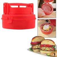 Wholesale Stuffed Burger Press Hamburger Grill BBQ Patty Maker Juicy
