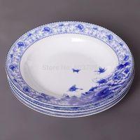 Wholesale Jingdezhen bone china tableware high grade bowl ceramics tableware set