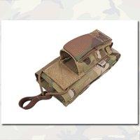 Wholesale 5 Pistol Magazine Pouch Single Open Top Emerson Tactical Military Combat Genuine Multicam Fabric Pouches EM6361 MC