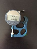 Wholesale High Accuracy Electronic Micron Digital Thickness Gauge Meter mm mm Resolution Thickness Tester Paper Film
