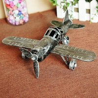 Wholesale Metal Material Aircraft model toys Glider Model kids toy plane