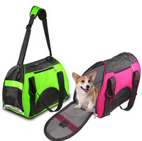 bag pet shop - New Arrival Fashion Pet Dog Carrier Handbag Travel Breathable Outdoor lightweight Shopping Dog Bag