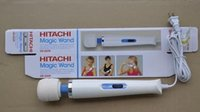 Wholesale 2016 Hitachi Magic Wand Massager AV Vibrator Massager Personal Full Body Massager HV R V Electric Massager Product