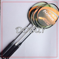 Wholesale pc black white grey U g light badminton rackets training badminton racquet D frame badminton racquet