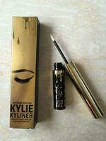 Wholesale Kylie Jenner Birthday Edition Kylie Mascara Jenner Birthday Edition Kylie Mascara Eyeliner Black Waterproof KYLINER KYMASCARA Good Quality
