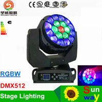 bee lamp - Newly Bee Eyes LED Moving Head stage lighting DMX512 X15W W RGBW IN DJ lamp Super effect LED stage lights