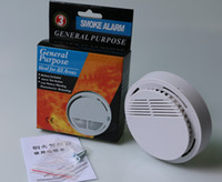 Wholesale High performance Photoelectric Wireless Smoke Detector High Sensitive Smoke Alarm For Home Security System