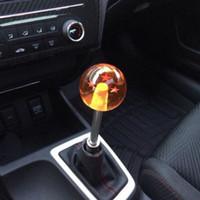 acrylic gear knobs - New arrived Dragon ball Z rare custom mm gear shift knob star Acrylic M10x1 for universal car