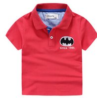 Wholesale The new summer models original single brand children s clothing for boys children high grade printing POLO shirt