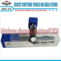 Wholesale 11 Big sales pieces GM E D8 ZCCCT GM Cemented Carbide CNC Flute Flattened end mill with straight shank