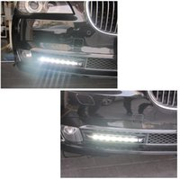 Wholesale Pair of Day Time Running Lights Fog Light Combo For Class