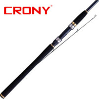 Wholesale Free EMS Crony Brand Attack Series L Power sections Carbon Lure Fishing Rod Spinning Rod for feeder fishing AG S682L