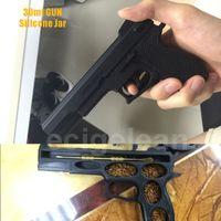 al por mayor goo gratis-Post 30ml Pistola de concentrado de silicona GUN * 1pc bho dab cera recipiente No-Stick Goo Libre de cera de narguile aceite dab jar para Glass Bong