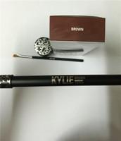 Wholesale Kylie Cosmetics Kylie Kyliner In Brown AND Black Kyliner Kit Birthday Edition Dark Bronze Set DHL