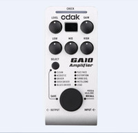 bass multi effects - GGEC odak GA10 acoustic guitar amplifier multieffects chorus flanger tremolo odak Guitar Effect Pedalguitar effects pedals bass guitar pedal
