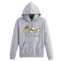 backyard games - Hot Game Neko Atsume collection sport hoodie casual backyard cat coat halloween cosplay clothing Costume