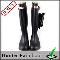 Wholesale Shoes Wholesales High Heels - Men Women rainboots fashion Knee-high rain boots waterproof welly boots Rubber rainboots water shoes 11 colors