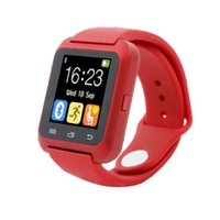 Wholesale U8 Smart für android Smart watches Bluetooth Samsung S4 Note Note HTC xiaomi für Android Handy Without box