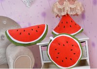 "Cheap ""New Arrivals"" Home Decoration Hot Style Fruit Hold Pillow Fruit Watermelon Back Cushion Pillow 1PCS Free Shipping!!"
