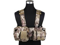 Wholesale Front Chest Rig MF Style Airsoft EMERSON UW Gen V Split Combat Wargame Camouflage Hunting Shooting Gear HLD